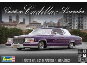 Revell - Custom Cadillac Lowrider, Plastic ModelKit MONOGRAM 4438, 1/25