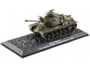 Altaya - M48 A3 Patton 2, USMC, 1st Tank Battalion, Vietnam, 1968, 1/72 - SLEVA 25%