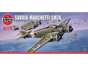 Airfix - Savoia-Marchetti SM.79 Sparviero, Classic Kit VINTAGE A04007V, 1/72