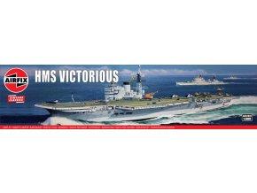 Airfix - HMS Victorious, Classic Kit VINTAGE A04201V, 1/600