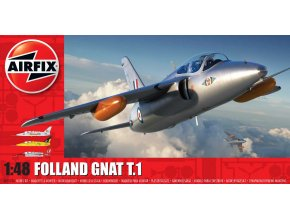 Airfix - Folland Gnat T.1, Classic Kit A05123A, 1/48