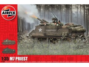 Airfix - M7 Priest, Classic Kit A1368, 1/35