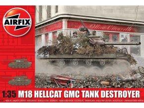 Airfix - M18 Hellcat, Classic Kit A1371, 1/35