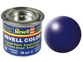 Revell - Barva emailová 14ml - č. 350 hedvábná tmavě modrá (dark blue silk), 32350