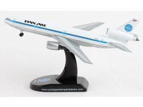 Postage Stamp Collection - McDonnell Douglas DC-10-10, dopravce Pan Am N61NA, USA, 1/400