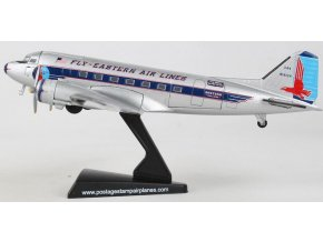 Postage Stamp Collection - Douglas DC-3 Fly, Eastern Air Lines N18124, USA, 1/144