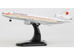 Postage Stamp Collection - McDonnell Douglas DC-10-10, dopravce National N63NA, USA, 1/400