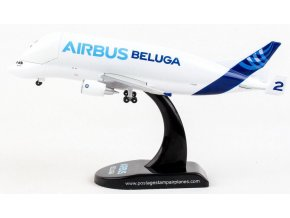 Postage Stamp Collection - Airbus A300-600ST, Beluga House colours nr. 2 F-GSTB, 1/400