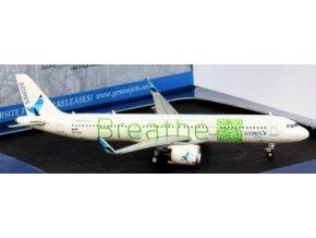Gemini Jets- Airbus A321neo SATA, společnost Azores Airlines BREATHE CS-TSF, Portugalsko, 1/400