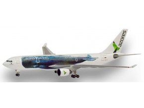 Herpa - Airbus A330-200, společnost SATA Azores Airlines CS-TRY, Portugalsko, 1/500