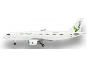 Herpa - Airbus A320-214, společnost SATA Azores Airlines CS-TKQ, Portugalsko, 1/500