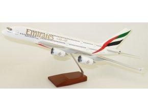 Led Model Inc - Airbus A380 s LED osvětlením, společnost Emirates Airlines, SAE, 1/160