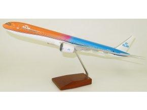 Led Model Inc - Boeing 777-300 s LED osvětlením, společnost KLM Orange Pride, Nizozemí, 1/160