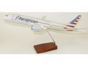 Led Model Inc - Boeing 787-9 s LED osvětlením, společnost American Airlines, USA, 1/140