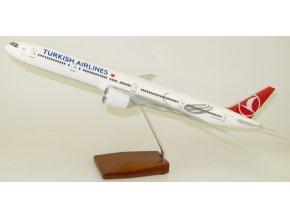 Led Model Inc - Boeing 777-300 s LED osvětlením, společnost Turkish, Turecko, 1/160