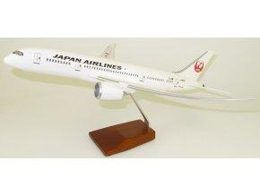 Led Model Inc - Boeing 787-9 s LED osvětlením, společnost JAL Japan Air Lines, Japonsko, 1/140