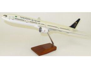 Led Model Inc - Boeing 777-300 s LED osvětlením, společnost Saudia, Saudská Arábie, 1/160