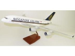 Led Model Inc - Airbus A380 s LED osvětlením, společnost Singapore Airlines, Singapur, 1/160