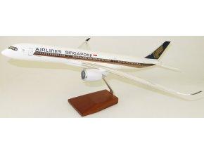 Led Model Inc - Airbus A350 s LED osvětlením, společnost Singapore Airlines, Singapur, 1/140