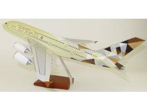 Led Model Inc - Airbus A380 s LED osvětlením, společnost Etihad Airways, SAE, 1/160
