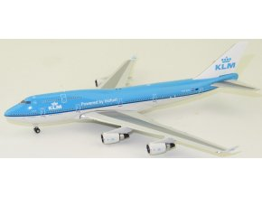 Phoenix - Boeing B747-400, dopravce KLM, PH-BFK Powered by biofuel, Nizozemí, 1/400