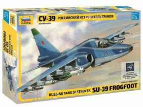 Zvezda - Suchoj SU-39, Model Kit letadlo 7217, 1/72