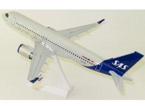 Lupa - Airbus 320neo, dopravce SAS Scandinavian Airlines LN-RGL, Dánsko, 1/100