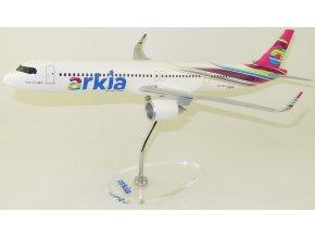 "Lupa - Airbus 321neo, dopravce  Arkia ""Fuchsia"" 4X-AGH, Izrael, 1/200"