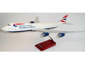 Premium Models - Boeing B747-8F, dopravce British Airways World Cargo, Velká Británie, 1/100