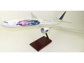 """TD Models - Boeing 777-300ER, dopravce Saudi Arabian Airlines """"supporting Formula E motor racing"""" HZ0AK43, Saudská Arábie, 1/100"""