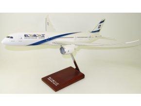 TD Models - Boeing 787-9 , dopravce EL AL 4X-EDA, Izrael, 1/100