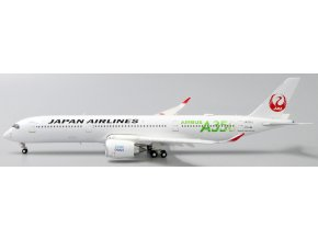 """JC Wings - Airbus A350-900XWB, dopravce Japan Airlines """"JAL Green"""" JA03XJ """"Flap Down"""" With Stand, Japonsko, 1/200"""