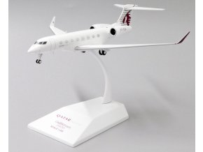 JC Wings - Gulfstream G650, společnost Qatar Executive A7-CGA With Stand, Katar, 1/200