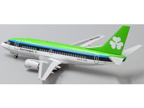 JC Wings - Boeing B 737-500, dopravce Aer Lingus EI-CDE With Stand, Irsko, 1/200