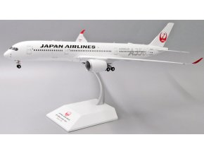 """JC Wings - Airbus A350-900XWB, dopravce Japan Airlines """"JAL Silver"""" JA02XJ With Stand, Japonsko, 1/200"""