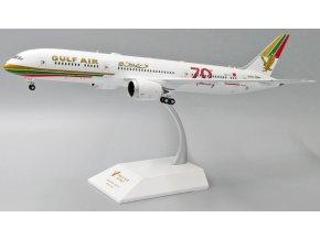 "JC Wings - Boeing 787-9 Dreamliner, dopravce Gulf Air, 70th Anniversary ""Retro Livery"", A9C-FG, Bahrajn, 1/200"