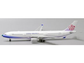 "JC Wings- Airbus A330-300, dopravce China Airlines ""Special Nose"" B-18353 With Antenna, Čína, 1/400"