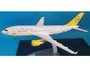 "J Fox - Airbus A310-304, dopravce Lufthansa ""Yellow Test Colors"", Německo, 1/200"