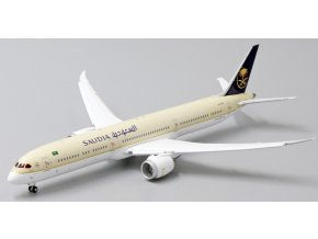 "JC Wings - Boeing B787-10 Dreamliner, dopravce Saudi Arabian Airlines ""Flap Down"" HZ-AR24 With Antenna, Saudská Arábie, 1/400"