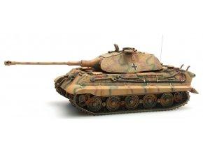 Artitec - Tiger II (Porsche), Zimmerit, Camo, ready-made 1/87