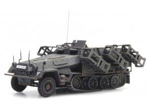 Artitec - SdKfz 251/1 Ausf. B mit Wurfrahmen, grau, 1/87