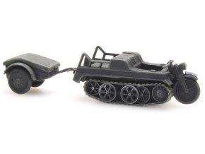 Artitec - SdKfz 2 Kettenkrad gray, 1/87