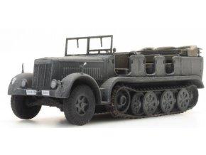 Artitec - Sd.Kfz. 7 Zugkraftwagen 8t, Wehrmacht, šedý, 1/87