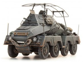 Artitec - Sd.Kfz 263 8-Rad Funkwagen, grey, resin ready made, painted, 1/87