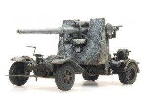 Artitec - Flak 18 - 88mm, Wehrmacht, zimní kamufláž, 1/87