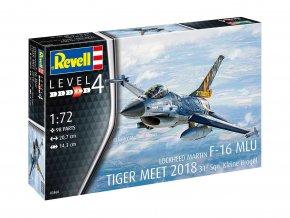 Revell - F-16 MLU TIGER MEET 2018 31 Sqn. Kleine Brogel, Model Kit 03860, 1/72