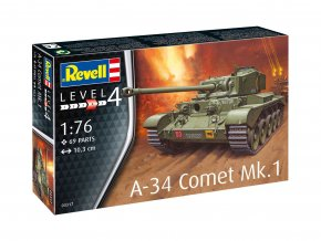 Revell - A-34 Comet Mk.1, Model Kit - 03317, 1/76