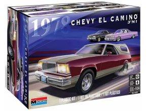 Revell - '78 Chevy® El Camino® 3in1, Model Kit 4491, 1/24