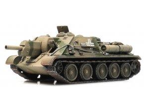 Artitec - SU-122 Beutefahrzeug, 1/87