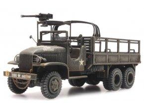 Artitec - GMC 353 open cab cargo 1 machine gun, 1/87